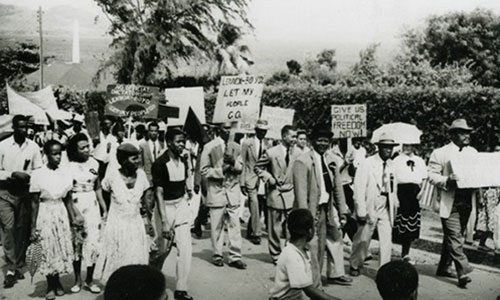 Labour Day March, 1955