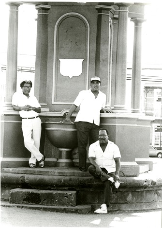 Taxi Men at the Memorial - 1980