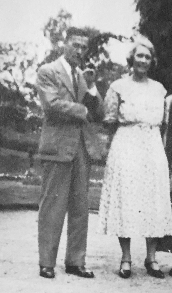 Geoffrey and  Marie Isme Boon