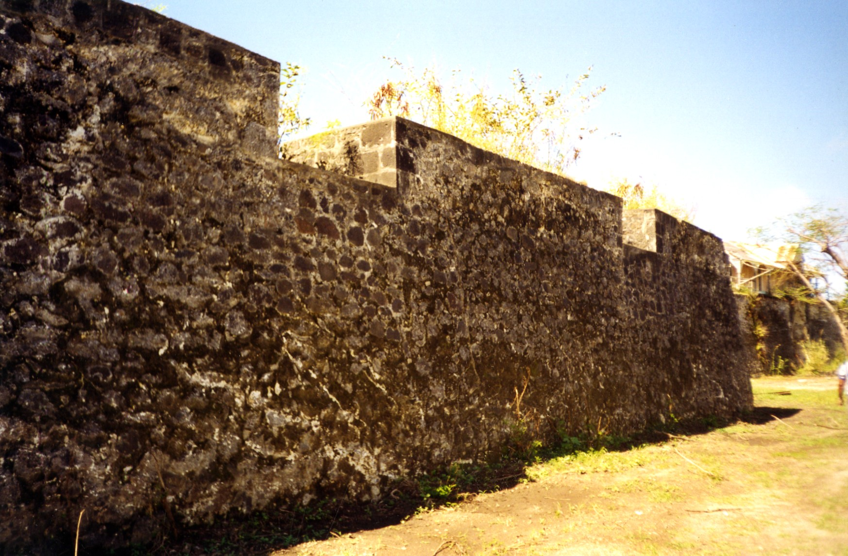Walls of Charles Fort