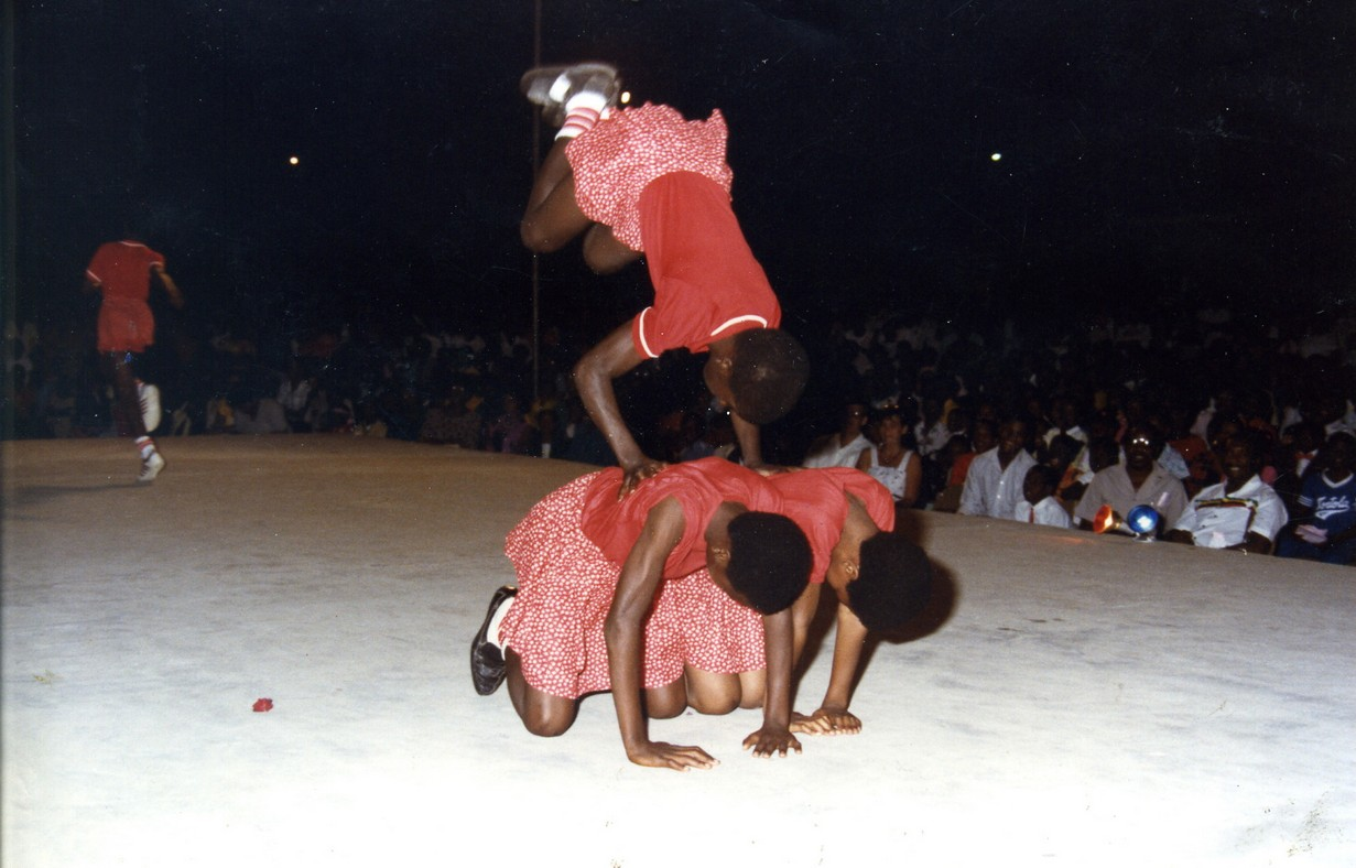 Actors at National Arts Festival 1986