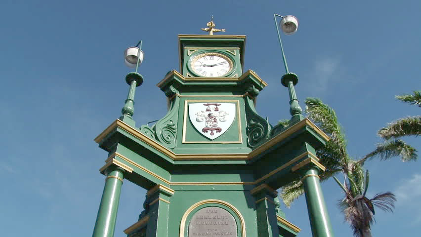 Berkeley Clock, The Circus - St. Kitts
